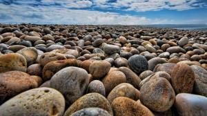 Stones on Chesil Beach