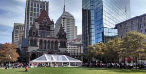 Boston Book Festival setting