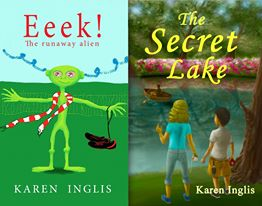 Covers of children's books by Karen Inglis