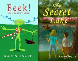 Covers of children's books by Karen Inglis