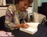 Lindsay Stanberry-Flynn signing her latest book