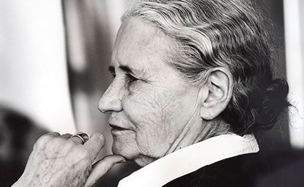 Author Doris Lessing