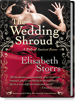 Cover of The Wedding Shroud by Elisabeth Storrs