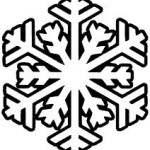simple snowflake graphic