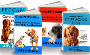 Some pet care books by Amy Shojai
