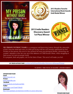 Taylor Fulks' award flyer