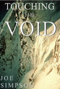 Cover of Touching the Void by Joe Simpson
