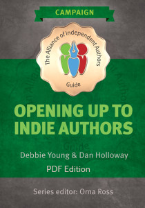 Cover of Opening Up To Indie Authors