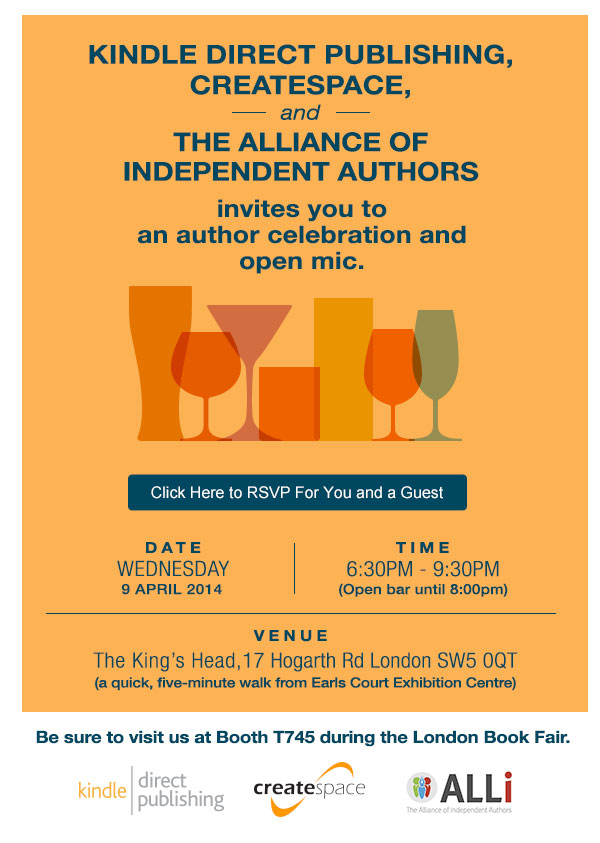 Alliance of Independent Authors 2nd Birthday Party