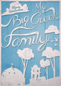 Cover of Big Greek Family by Maria Dreyer
