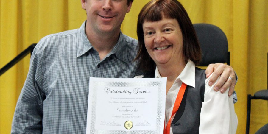 Mark Coker & Orna Ross, Indie Author Award
