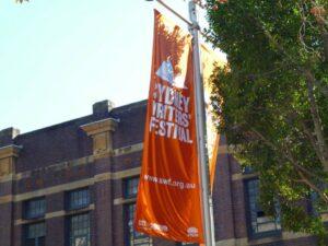 Sydney Writers' Festival banner