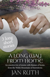 "Cover of Jan Ruth's collection of ""long short"" stories"
