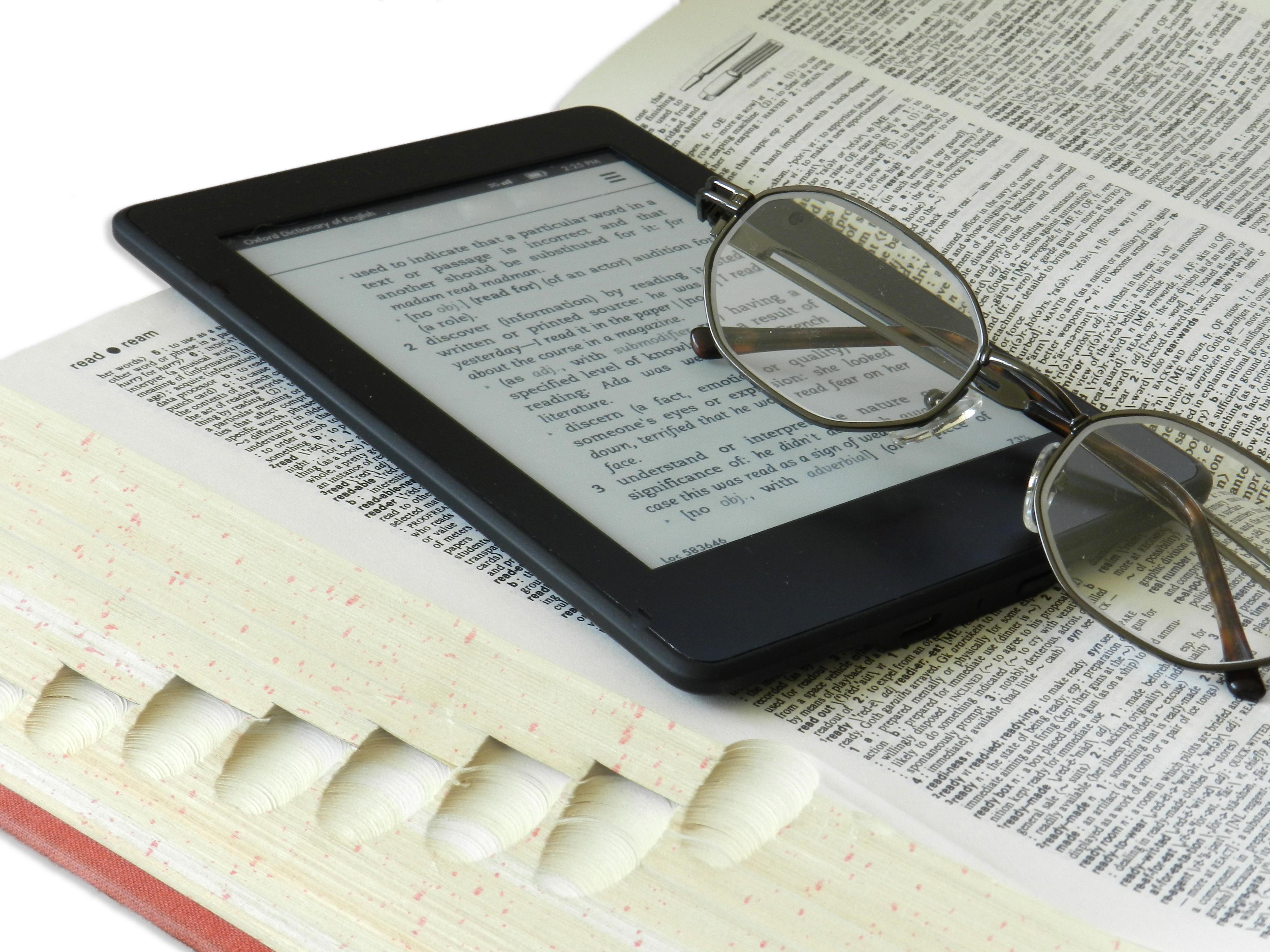 Kindle And Dictionary Editing And Proofreading