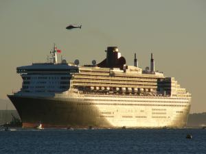 Photo of a huge cruise ship
