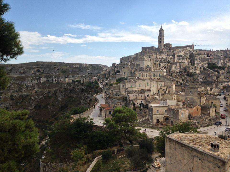Scenic Photo Of Matera