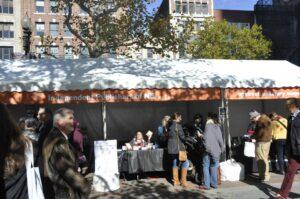 Photo of IPNE stall