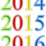 2014, 2015, 2016 in figures