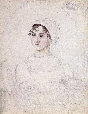 Jane Austen, Drawn By Her Sister Cassandra