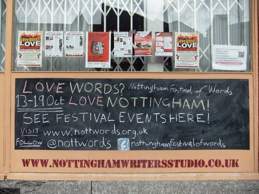 Reaching Readers At Literary Festivals: Case Study Of The Nottingham Festival Of Words