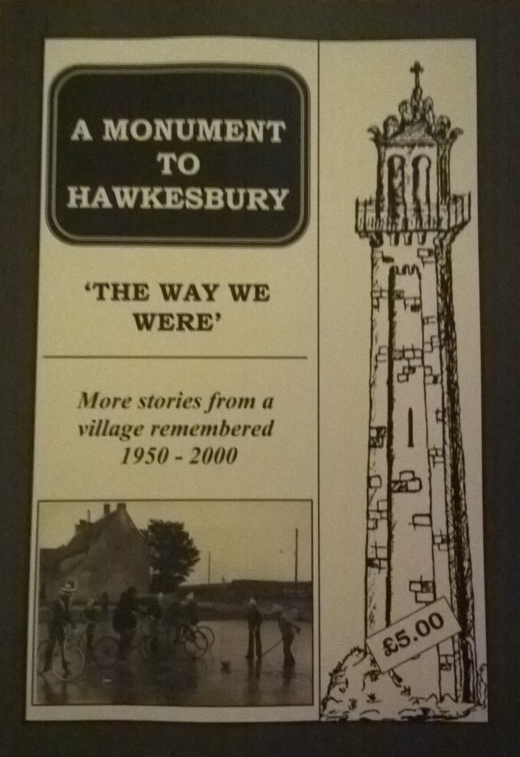Cover Of A Monument To Hawkesbury Volume 3