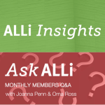 ALLi Insights Ask ALLi Events hosted by Orna Ross