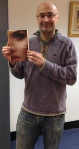 Paul with his book at Matador