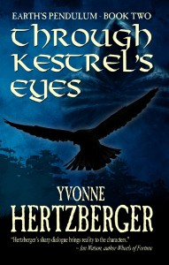 Cover of Through Kestrel's Eyes by Yvonne Hertzberger