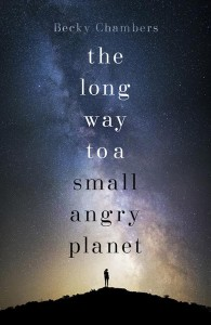 Cover of Becky Chambers' debut novel
