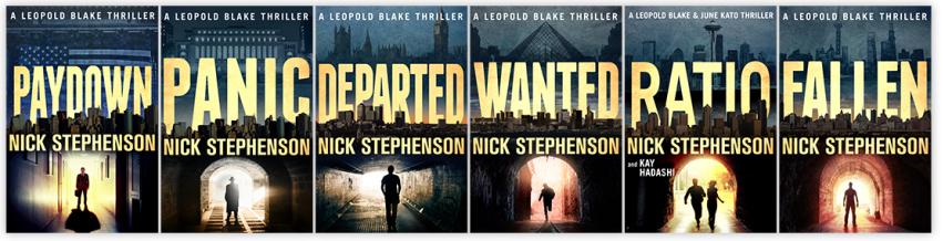 Nick Stephenson Leopold Blake Book Series