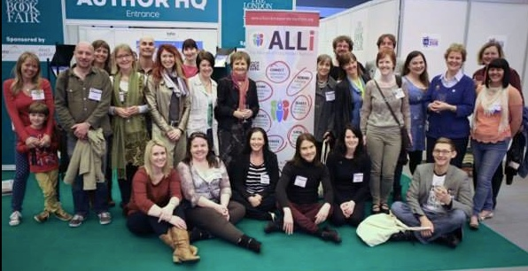 Group shot of ALLi members at London Book Fair