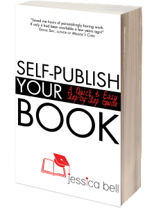 Cover of Jessica Bell's self-publishing guide