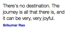 There is no destination Quote Ask ALLi inspiration www.selfpublishingadvice.org