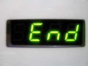 end clock