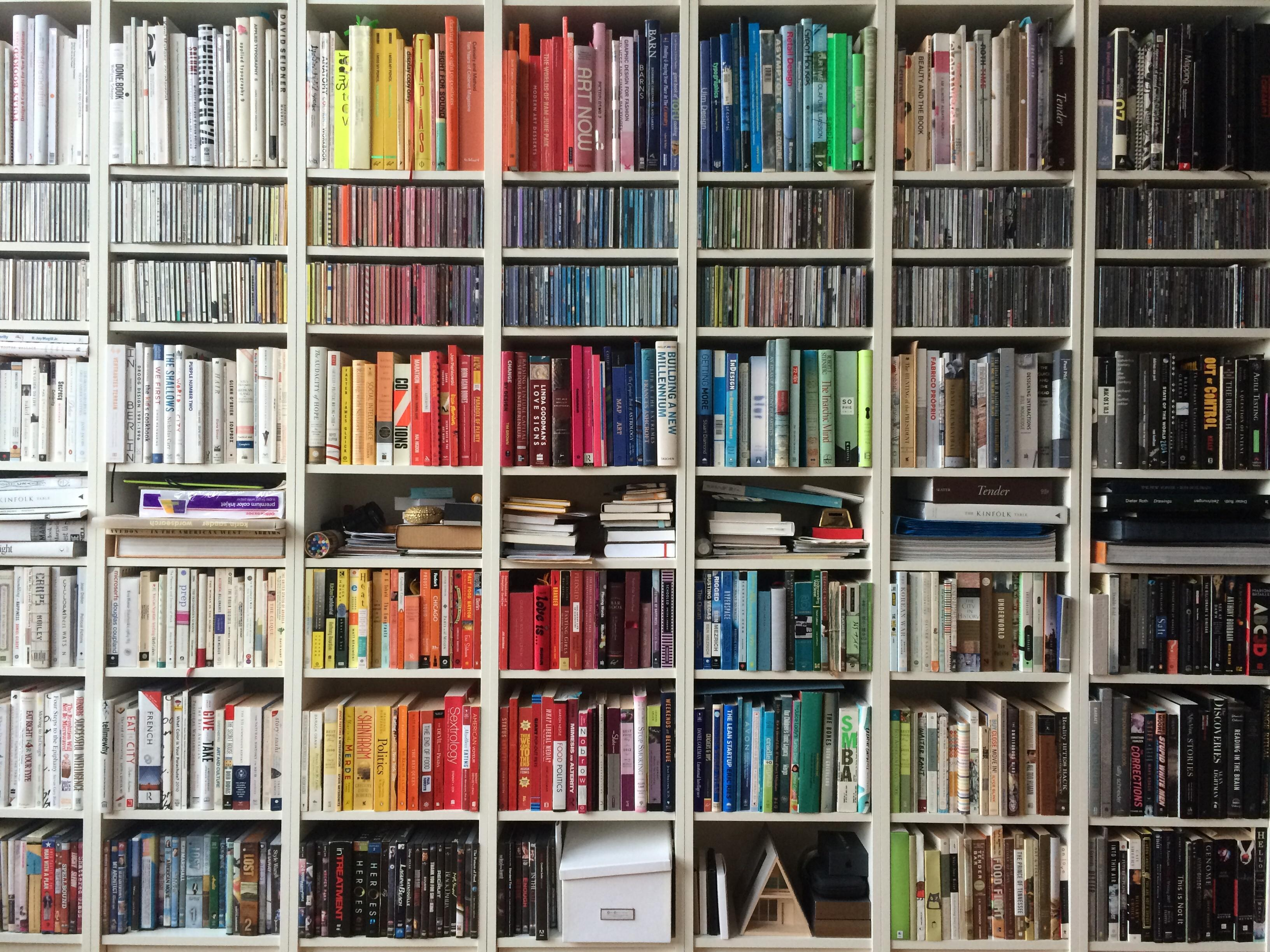 Multi-coloured Bookshelf