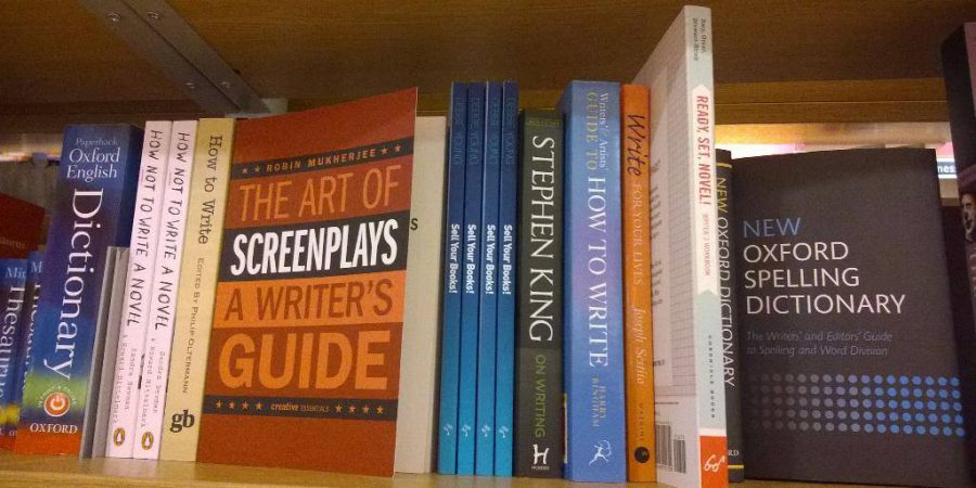 One Of Debbie's Books On A Shelf In Foyles