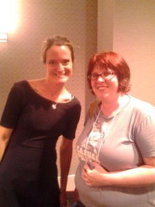 Photo of Samantha with Sara