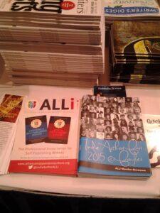 Pile of leaflests for ALLi
