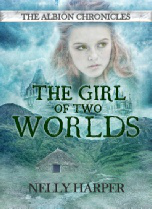 Cover Of The Girl Of Two Worlds By Nelly Harper