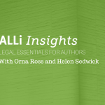 ALLi Insights Event Banner for July Helen Sedwick