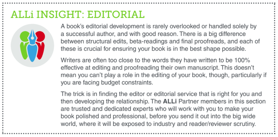 ALLi Insights Editorial Advice