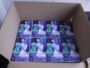 "Box of ""I Stopped Time"" novel"
