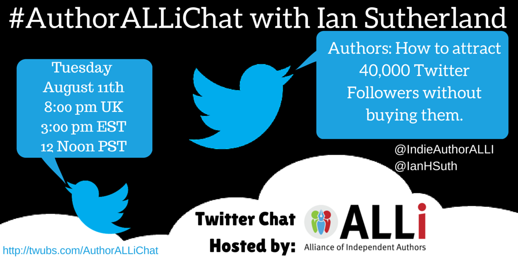 Author ALLi Chat With Ian Sutherland