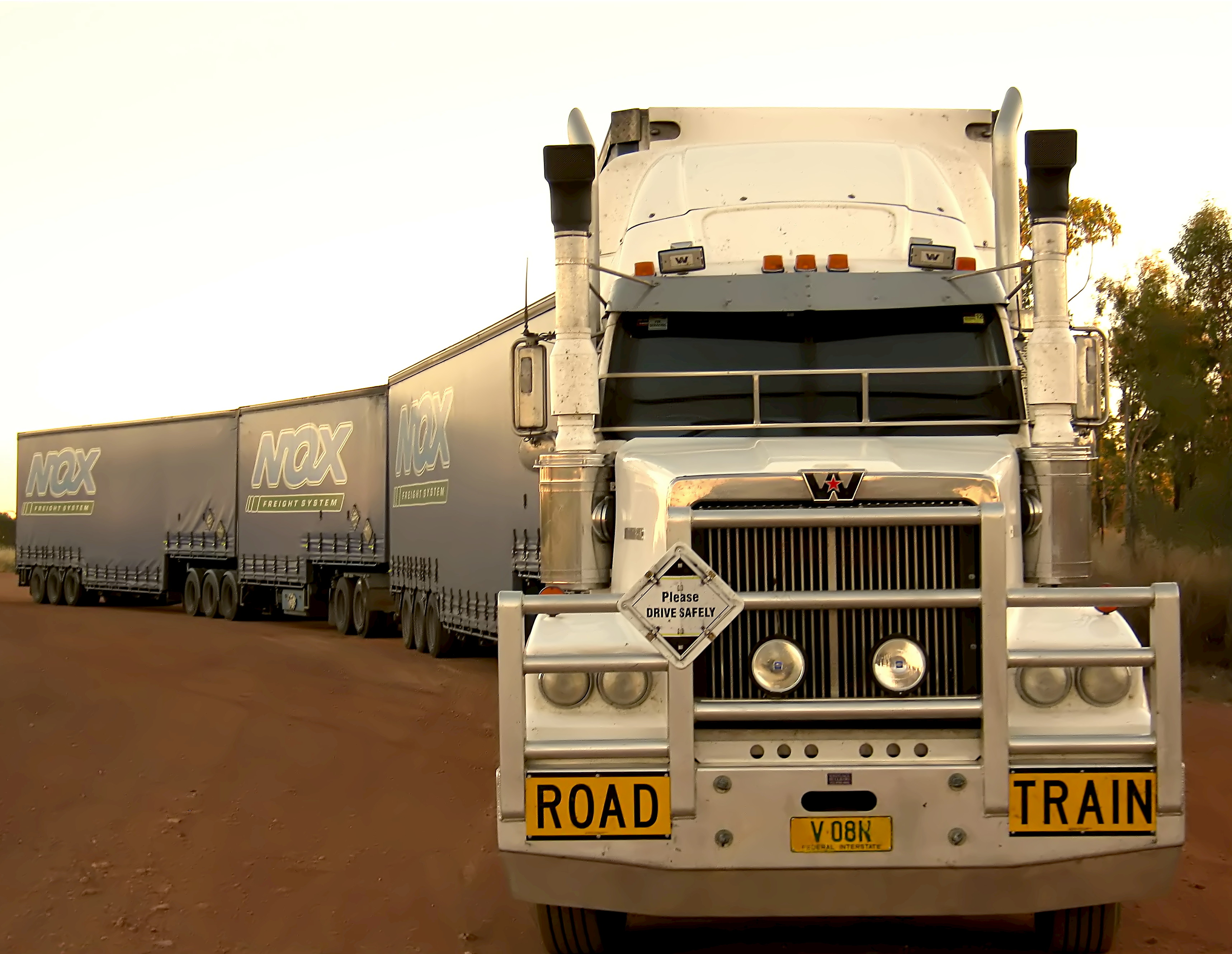 Photo Of A Road Train