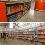 Bucharest subway hybrid/eBook library