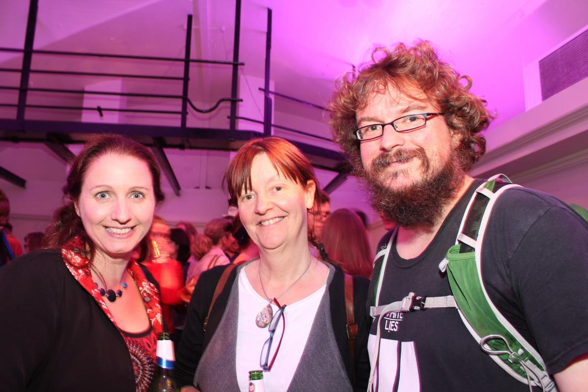 Photo Of Dan Holloway, Joanna Penn And Orna Ross
