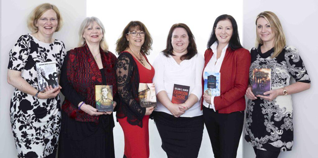 Group shot of Triskele authors