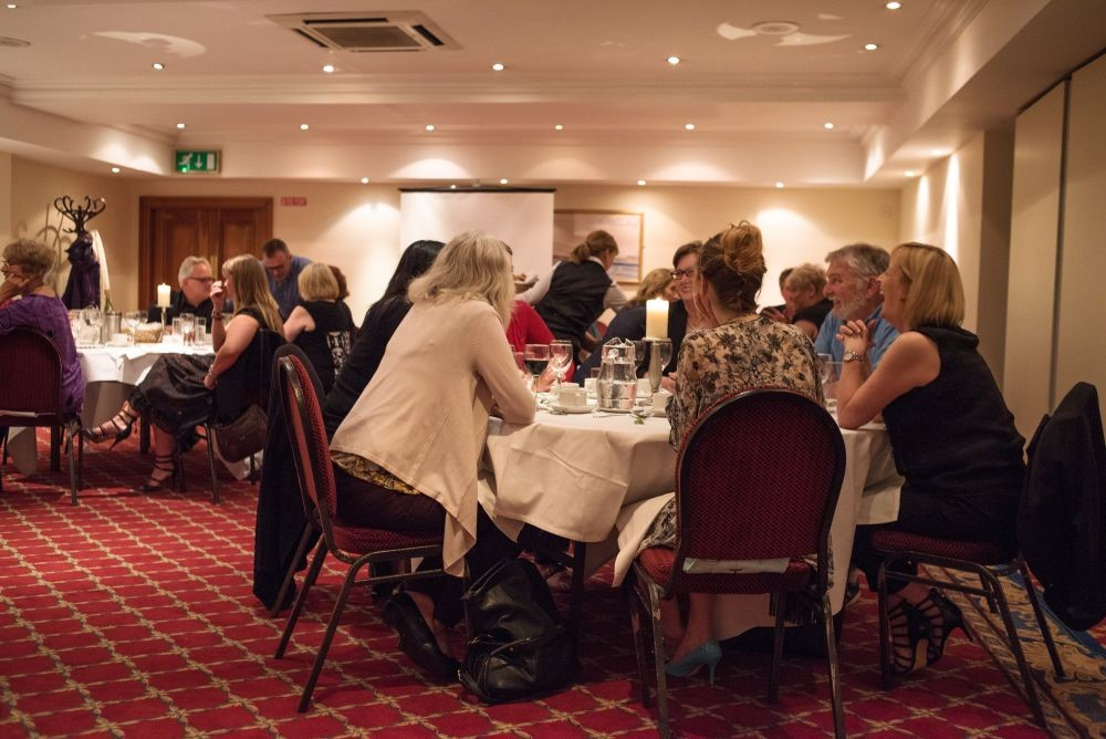 Photo of conference dinner