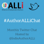 Monthly #AuthorALLiChat hosted by Alliance of Independent Authors