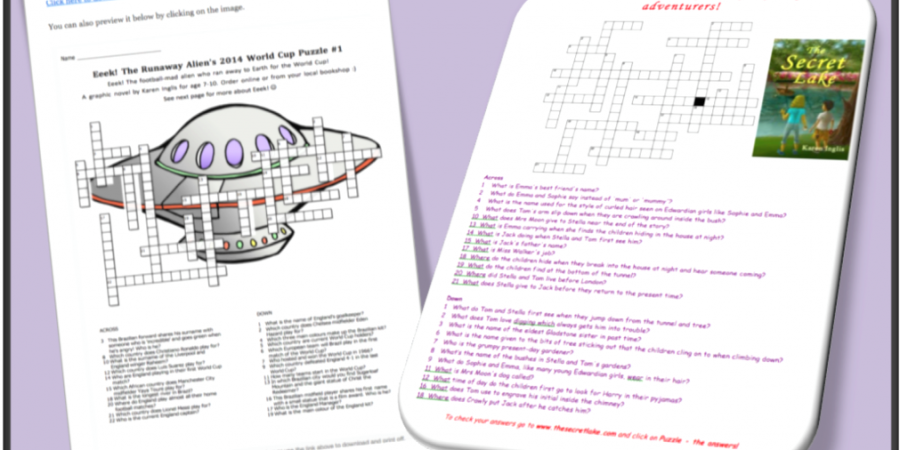 How To Promote A Children's Book With Crossword Puzzles